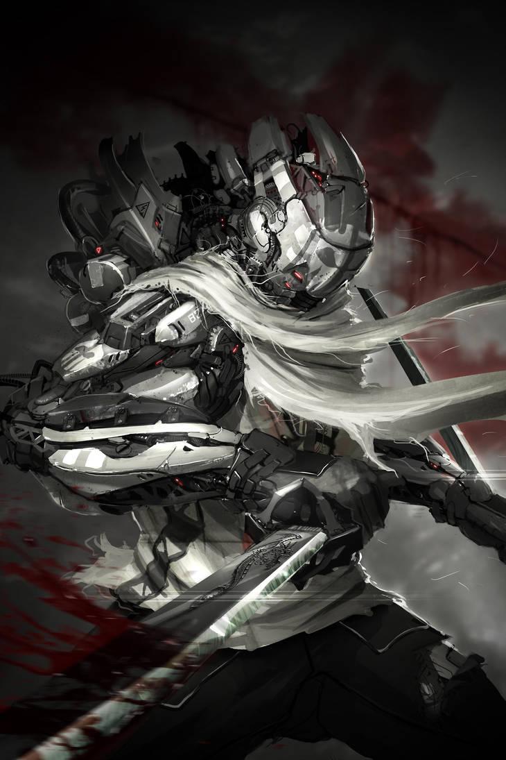 ninja of steel by ptitvinc