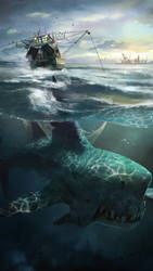 Unconscious Underwater by ptitvinc