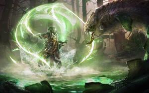 hunting magic by ptitvinc