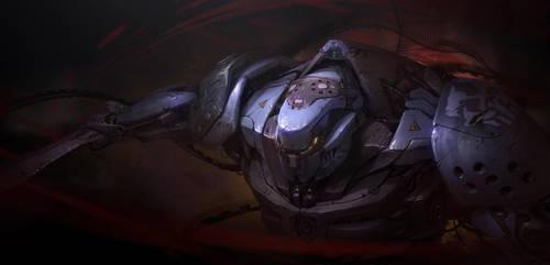 mechanical Gladiator by ptitvinc