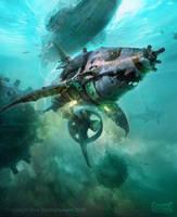 Dwarven Fish Bait by ptitvinc