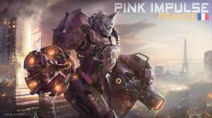pink impulse jaeger france ( jaeger contest ) by ptitvinc