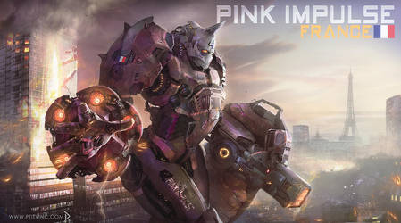 pink impulse jaeger france ( jaeger contest ) by ptitvinc