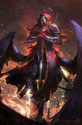 angel of death by ptitvinc by ptitvinc