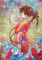 Madame Peacock by VK-oelala