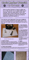 Copic Marker Tutorial by VK-oelala