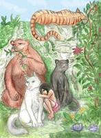 Jungle Book by Greys-Giovana