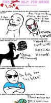 Anti MLP meme by Dread555