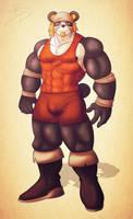 Pantsou the Panda by leomon32