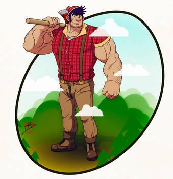 Big Paul Bunyan by leomon32