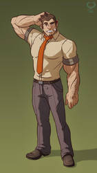 Detective Dick Gumshoe by leomon32