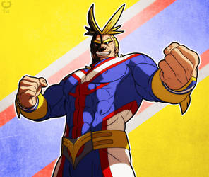 My Hero Academia - All Might - by leomon32