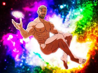 Space Titan : Chris Hemsworth by leomon32