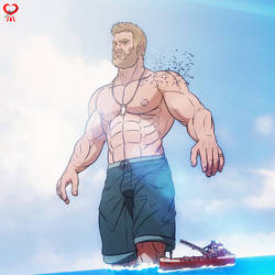 Chris Hemsworth +God of the Sea+ by leomon32