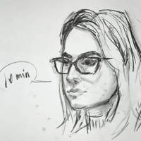 10 min portrait by keera-art