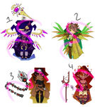 Yay new adopts (OTA OPEN) by UnluckyMoses
