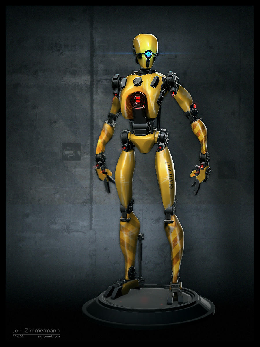 Robot Concept by Nero-tbs