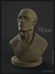 The Monk Sketch by Nero-tbs