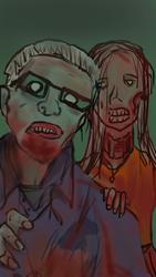 Day 3-The Walking Dead by sicfi-nut