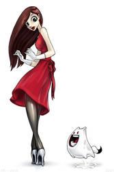 Red Dress by Mr--Jack