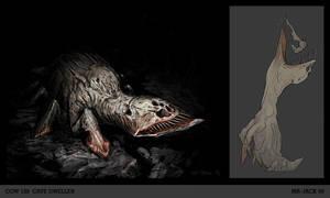 Blind Cave-shark by Mr--Jack