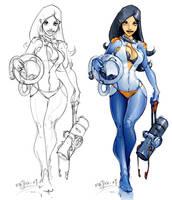 Spacegirl by Mr--Jack