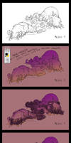 Larvae progress by Mr--Jack