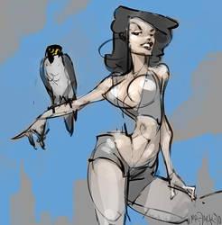 City Bird by Mr--Jack