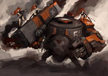 Heavy Bramble by Mr--Jack