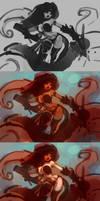 Monika 6 Process by Mr--Jack