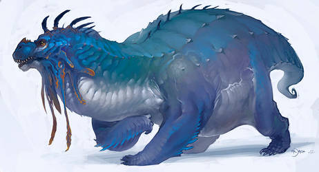 Big Blue by Mr--Jack