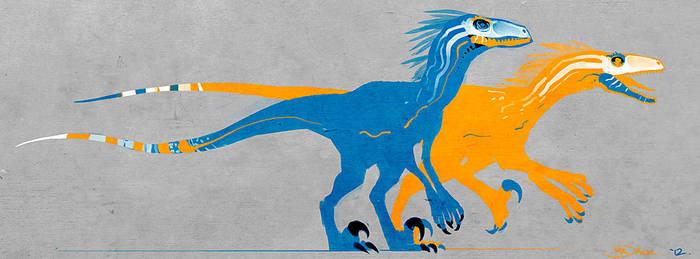 raptors by Mr--Jack