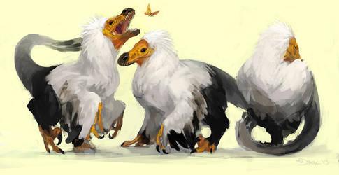 Raptors II by Mr--Jack