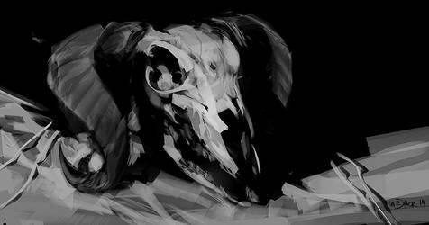 Skulll by Mr--Jack