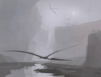 Pterosaur Canyon by Mr--Jack