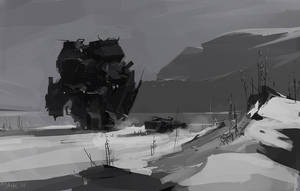 A Winter Trek by Mr--Jack