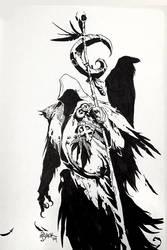 Traveling Raven by Mr--Jack