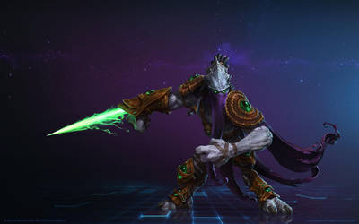 Zeratul, Dark Prelate by Mr--Jack