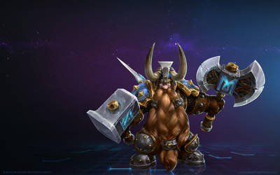 Muradin, Mountain King by Mr--Jack
