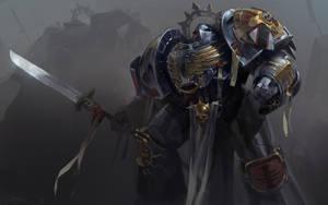 A Knight in Grey by Mr--Jack