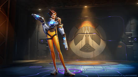 Tracer, Agent of Overwatch by Mr--Jack