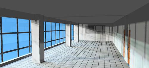 The floor, from rear. by rkraptor70