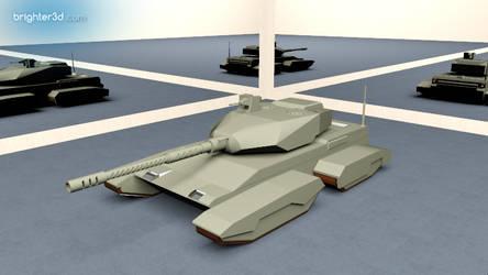 Osmani MBT by rkraptor70