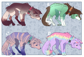 Dog Adopt Batch 3 (CLOSED) by Adoptables-station