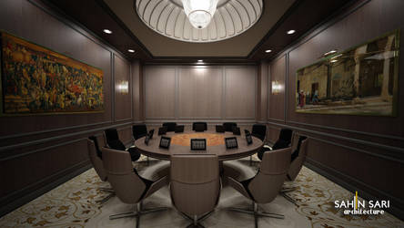 Hotel Meeting Room by Sahinsari