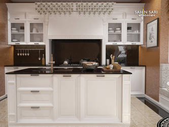 Classic Kitchen Design by Sahinsari