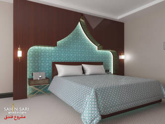 Hotel Room Design by Sahinsari