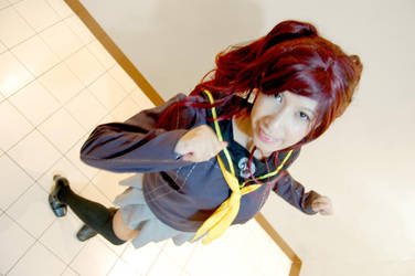Rise Kujikawa cosplay by kowaipanda