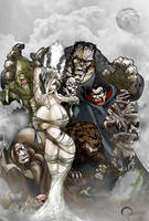 Classic Monsters by O-mac