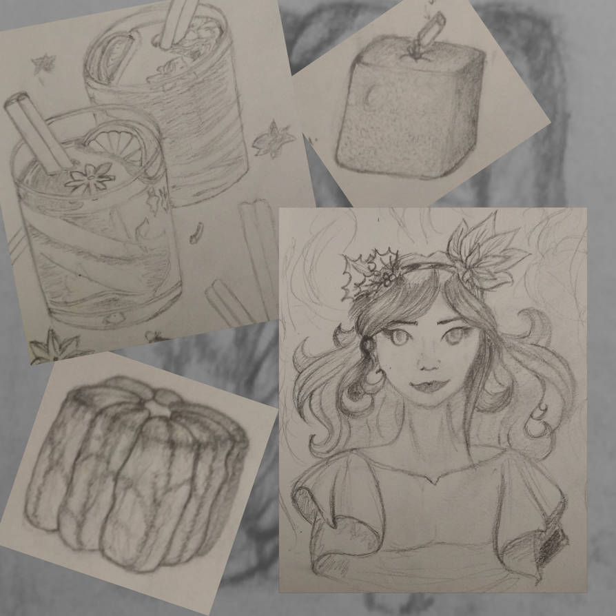 Some sketches by Caterinna